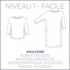 Robe/Blouse Amazone
