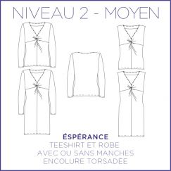 Espérance Dress/Blouse