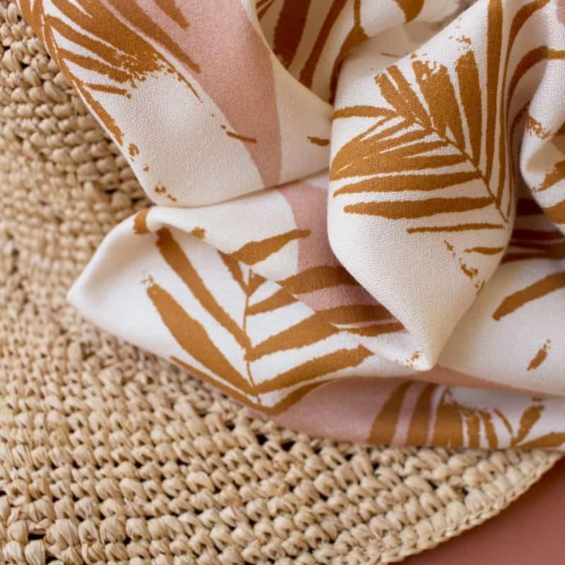 "Tissu ""Canopy Ochre"""