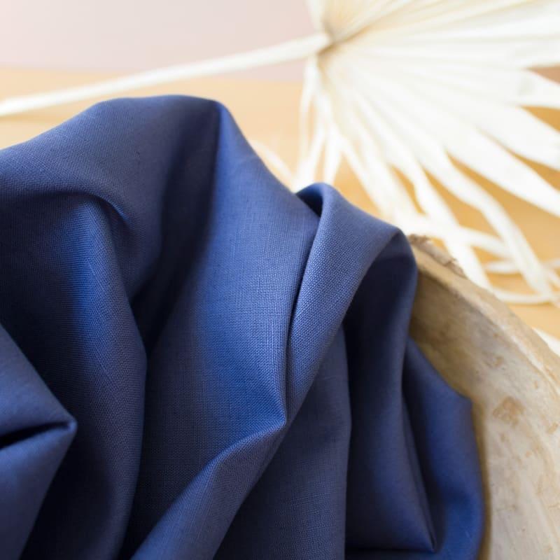 "Tissu ""Linen Cobalt"""