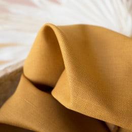 Linen Ochre Fabric