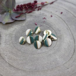 Wink Buttons Off-White - Cactus