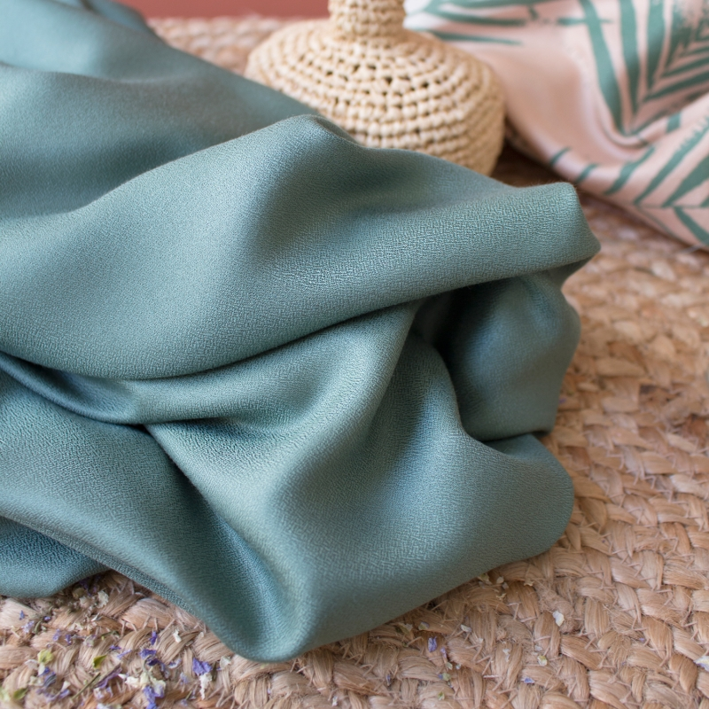 Crepe Cactus Fabric