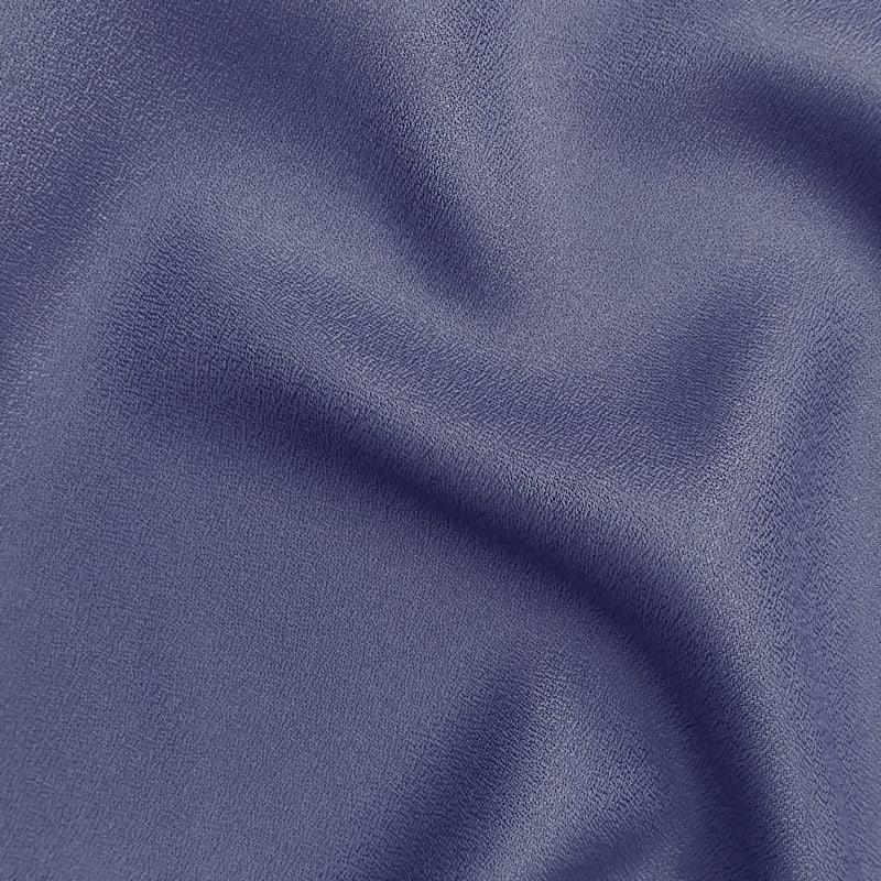 Crepe Cobalt Fabric