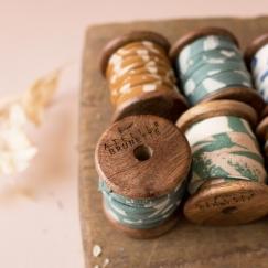Bobine en bois Atelier Brunette -  édition limitée