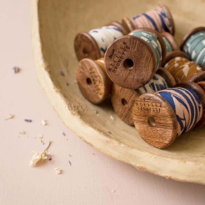 Petite bobine en bois Atelier Brunette -  édition limitée