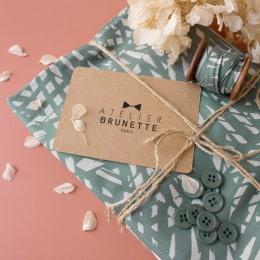 Carte Cadeau Atelier Brunette
