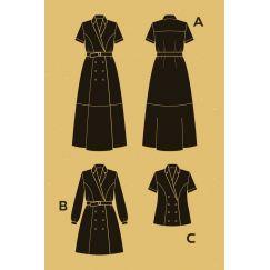Robe Passiflore