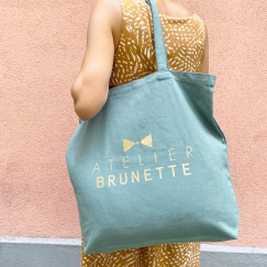 "Limited Edition Maxi Tote Bag ""Cactus"""